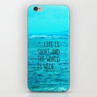 LIFE IS SHORT II  iPhone & iPod Skin