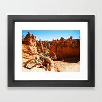 Bryce Canyon National Pa… Framed Art Print