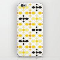 Stone Wall (Cockatoo Yellow) iPhone & iPod Skin