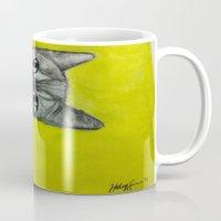 crooked kitty Mug