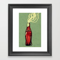 Genie Out The Bottle Framed Art Print
