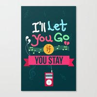 IF I STAY: I'll Let You Go Canvas Print