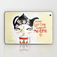Miss Tea-Time Laptop & iPad Skin