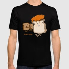 Ginger Bread SMALL Mens Fitted Tee Black