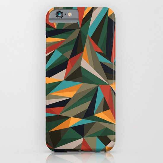 Sliced Fragments II iPhone & iPod Case