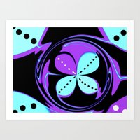Pattern Two (Inverted) Art Print