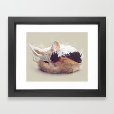 Desert Fox Framed Art Print