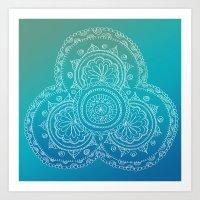 INDI_ART_4 Art Print