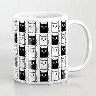 A Chess Of Cats Mug