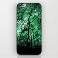 The Trees Reach Out at Night iPhone & iPod Skin