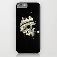 iPhone & iPod Case featuring Planet Space Skull  by Josh Ln