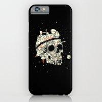 Planet Space Skull  iPhone 6 Slim Case