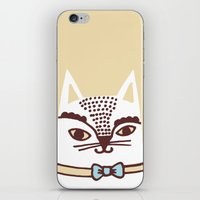 Katze #3 iPhone & iPod Skin