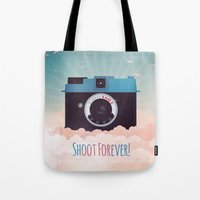 Shoot Forever Tote Bag
