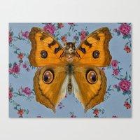 Caterflies Canvas Print