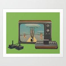 Space Invaders II Art Print
