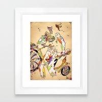 That Bike Ain't Gonna Ri… Framed Art Print