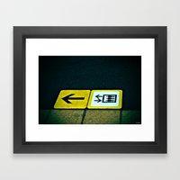 Platform Framed Art Print