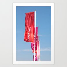 London2012 Flags Art Print
