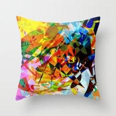 Colors Throw Pillow