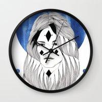 Winter Hymn Wall Clock