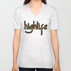 highlife Unisex V-Neck