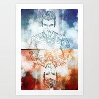 Zachary Quinto Art Print