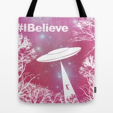 #Ibelieve UFO Tote Bag
