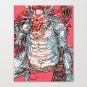 Asylum Demon Canvas Print