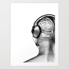 To Hear, To Listen Art Print