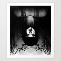 Umbra Caligo Art Print