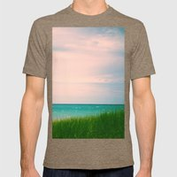 The Sea, The Sea Mens Fitted Tee Tri-Coffee SMALL