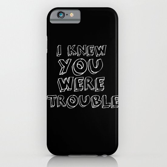 Trouble iPhone & iPod Case