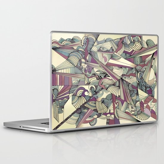 When my Mind Goes Boom. Laptop & iPad Skin