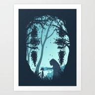 Art Print featuring Lonely Spirit by Filiskun