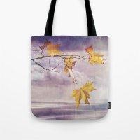 Faded Leaves - JUSTART �… Tote Bag