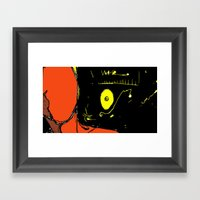 The Universe Over My Sho… Framed Art Print
