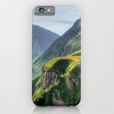 Mountains, green, gigantic, steep and rolling iPhone 6s Slim Case