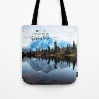 Mt Shuksan-adventure Tote Bag