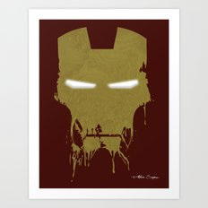 Iron Dirty Man Art Print