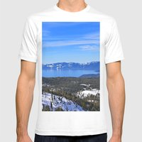 Tahoe Mens Fitted Tee White SMALL