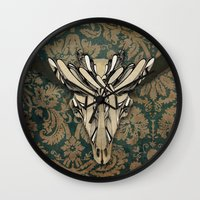 Raging Bull Wall Clock