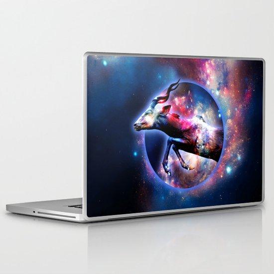 Galactic jump Laptop & iPad Skin