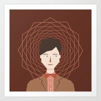 The Doctor (Matt Smith) Art Print