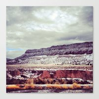 FOUR CORNERS Canvas Print