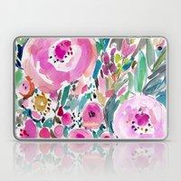 Pink Pow Wow Floral Laptop & iPad Skin