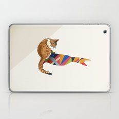 Walking Shadow, Cat 2 Laptop & iPad Skin