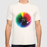 Pantune - The Color Of S… Mens Fitted Tee Natural SMALL