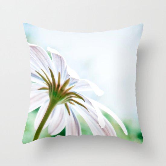 Sunbaking Throw Pillow