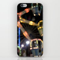 Seaside Boardwalk Lights iPhone & iPod Skin